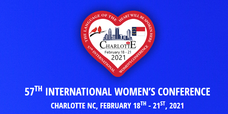 57th International Women's Conference / 1st Virtual Event!