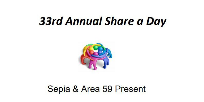 Share-A-Day Event (Online)